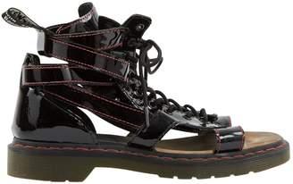 Dr. Martens Black Patent leather Sandals