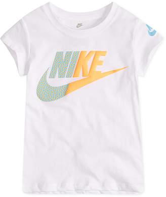 Nike Little Girls Futura-Print T-Shirt