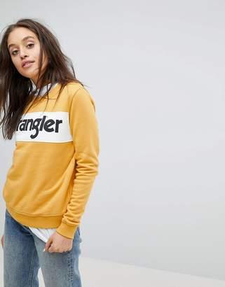 Wrangler Block Logo Sweatshirt