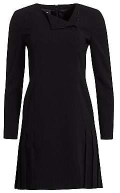 Akris Women's Double-Face Wool Short Dress