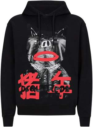 DSQUARED2 Year Of The Pig Hoodie