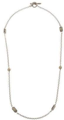 Konstantino Two-Tone Station Necklace