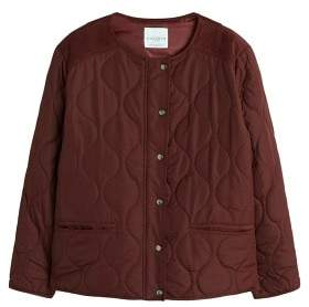 Violeta BY MANGO Quilted lining coat
