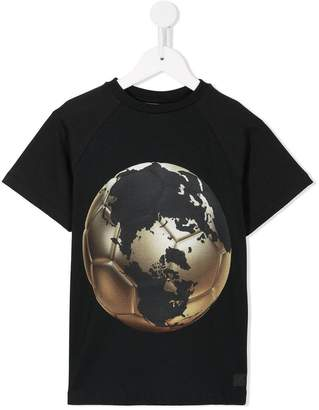Molo world map football T-shirt