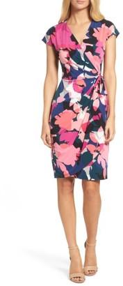 Women's Maggy London Jersey Wrap Dress $98 thestylecure.com