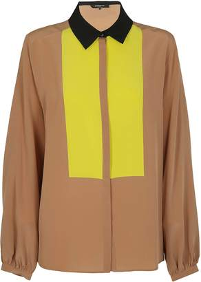 Rochas Contrast Panel Shirt