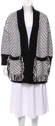 Burberry Glasshouse Fringe Cardigan