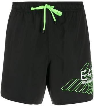 Ea7 shell swim shorts