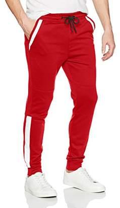 WT02 Men's Tech Fleece Jogger Pants With Nylon Details