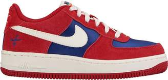 Nike Force 1 Low Gym Red Deep Royal Blue (GS)