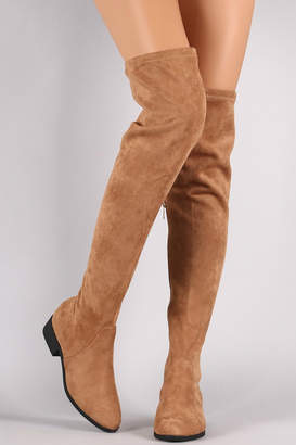 Bamboo Tan Over-The-Knee Boots