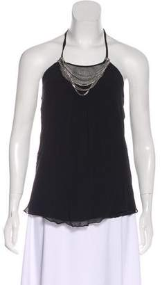 Twelfth Street By Cynthia Vincent Silk Embellished Top