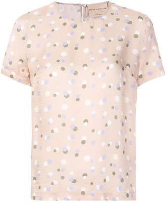 Cavallini Erika polka dot print T-shirt