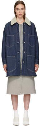 Maison Margiela Indigo Garage Wash Denim Jacket