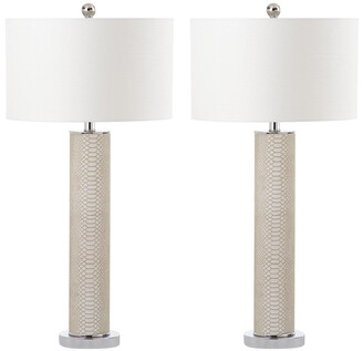 Safavieh Set Of 2 Ollie 32.5In Table Lamps