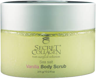D.E.P.T Secret Collagen Sea Salt Vanilla 13.2Oz Body Scrub