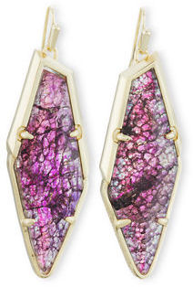Kendra Scott Bexley Statement Drop Earrings $75 thestylecure.com