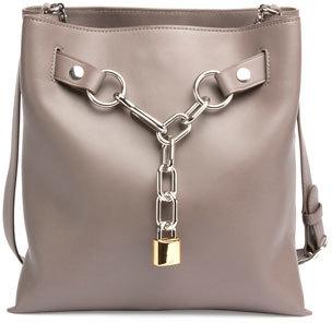 Alexander WangAlexander Wang Attica Chain Crossbody Bag, Mink Gray