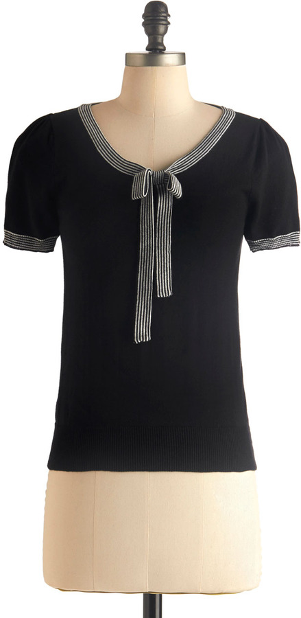 Barista in the City Top in Black