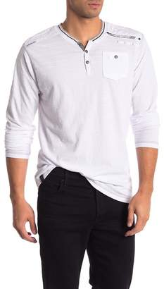 ProjekRaw Projek Raw Striped Long Sleeve Shirt