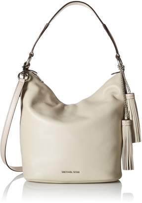 Michael Kors Women's Large Elana Convertible Bag Leather Shoulder Hobo
