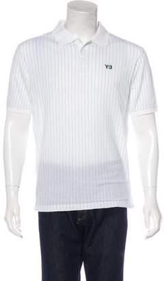 Y-3 Striped Logo Polo Shirt