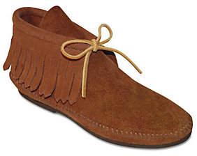 Minnetonka Classic Hardsole Suede Ankle Boots w