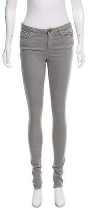 Marchesa Mid-Rise Skinny Jeans
