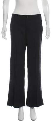 Issey Miyake Fete Mid-Rise Pleated Pants
