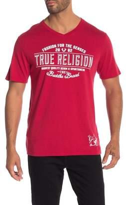 True Religion Bringa Back V-Neck Tee