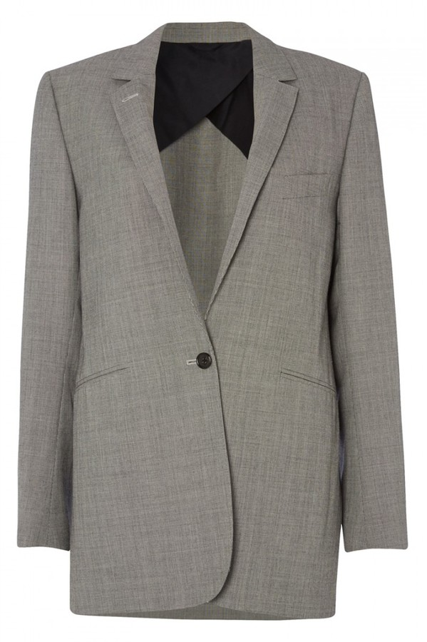 Margaret Howell Wool & Cotton Tailored Blazer