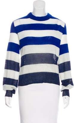 Rag & Bone Striped Scoop Neck Sweater