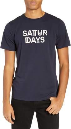 Saturdays NYC Deco Neue Logo T-Shirt