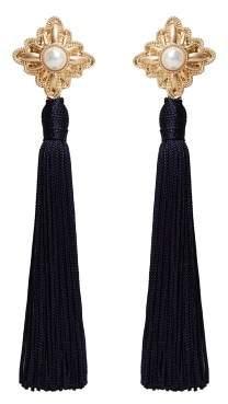 Violeta BY MANGO Tassels pendant earrings