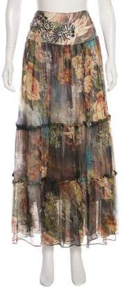 Philipp Plein Safari Midi Skirt w/ Tags