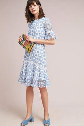 Shoshanna Crocheted Floral Dress