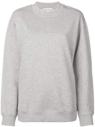 Paco Rabanne back logo oversized sweatshirt