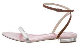 Jenni Kayne Leather Ankle Strap Sandals