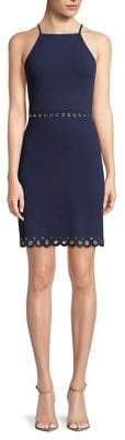 MICHAEL Michael Kors Scallop-Hem Sheath Dress