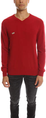 Warehouse Fold Your Paper Cashmere V Neck Sweater