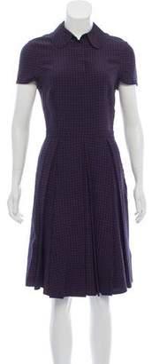 Tory Burch Knee-Length Short Sleeve Dress