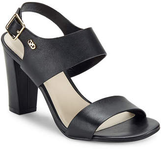Cole Haan Octavia Block-Heel Leather Sandal