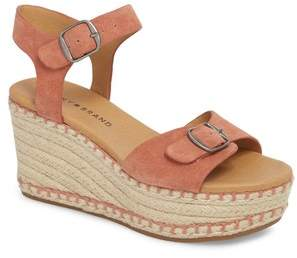 Lucky Brand Naveah III Espadrille Wedge Sandal