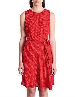Marcs Women Polka Dot Viscose Dress