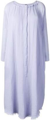 Raquel Allegra loose-fit shirt dress