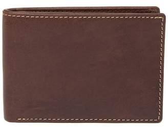 Bosca Vermont Leather Slim Bi-Fold Wallet