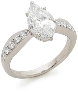 Oriental Diamond プラチナマーキス ダイヤモンドリング プラチナ 12