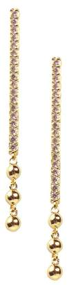 Jules Smith Designs Long Bar Drop Earrings
