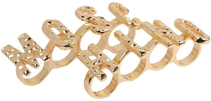 Moschino MOSCHINO COUTURE Rings