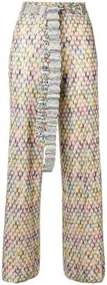 Missoni high waist knit trousers